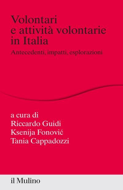 Cover Volontari e attività volontarie in Italia