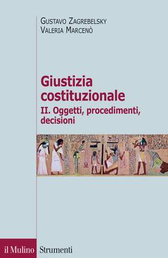 copertina Giustizia costituzionale II