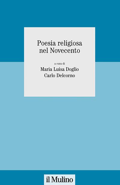 Cover Poesia religiosa nel Novecento