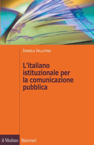 Cover L'italiano istituzionale per la comunicazione pubblica